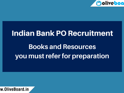 Indian Bank PO books