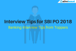 Interview Tips for SBI PO
