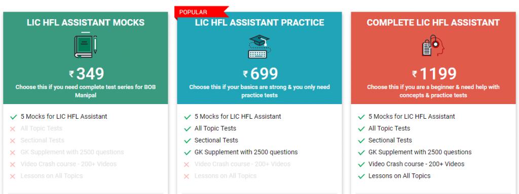 LIC HFL Assistant Books 2018