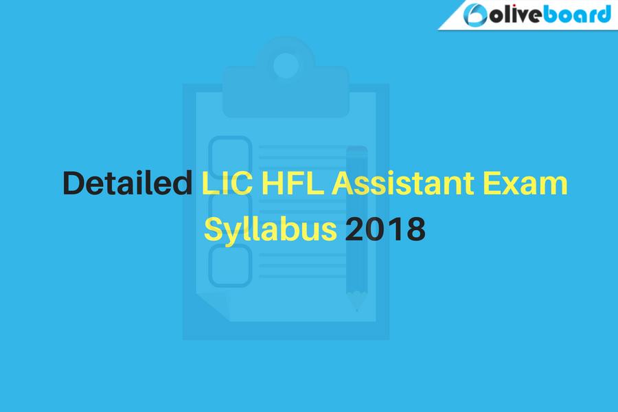 LIC HFL Assistant Exam Syllabus