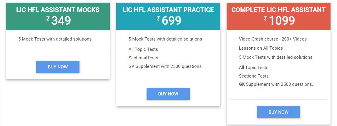 LIC HFL Study notes