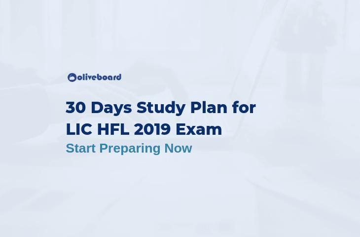 LIC HFL Study Plan 2019