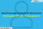 Must Know Age Problems for Bank Exams RBI Grade B