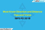 Must Know Direction and Distance Tips and Tricks IBPS PO 2018