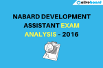 NABARD Development Assistant Exam Analysis