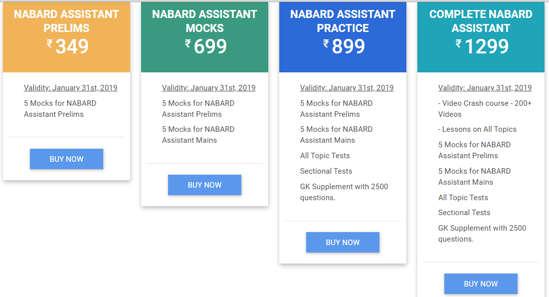 NABARD Development Assistant