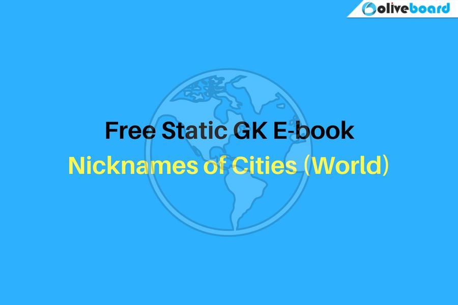 Nicknames of Cities (World)