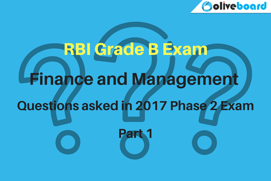 RBI Grade B Previous Year Question Paper