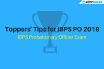 Toppers' Tips for IBPS PO