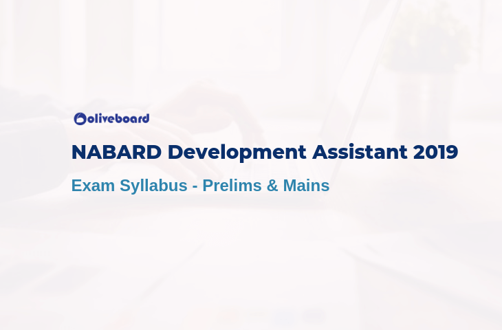 nabard development assistant exam syllabus 2019