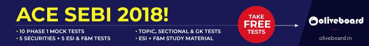 SEBI 2018 Exam Books and Resources
