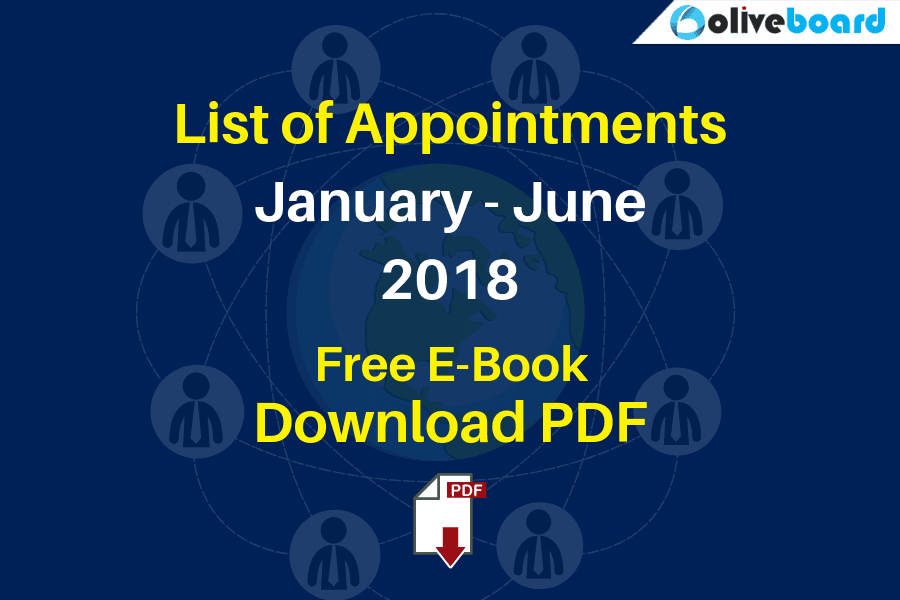 List of Appointments
