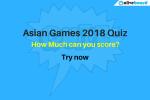 Asian Games 2018 Quiz