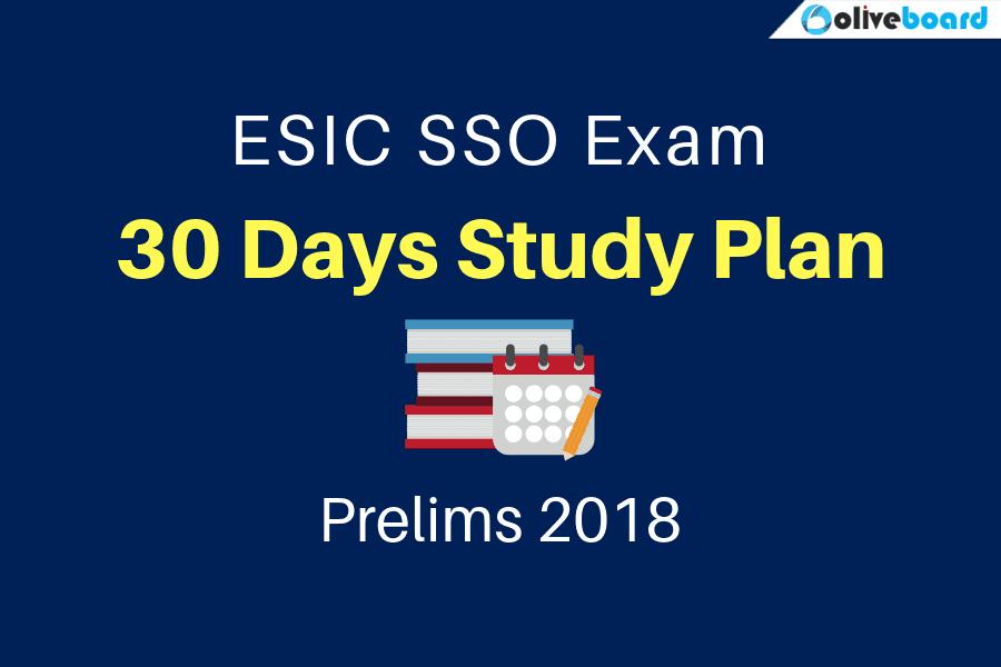 ESIC SSO Study Plan