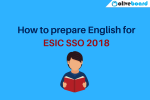English for ESIC SSO