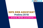 IBPS RRB Office Assistant Prelims Cut Off