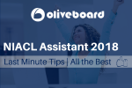 Last Minute Tips for NIACL Assistant Exam