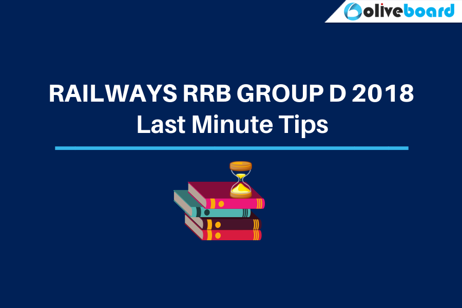 Last Minute Tips for RRB Group D