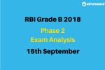 RBI Grade B Exam Analysis phase 2 exam
