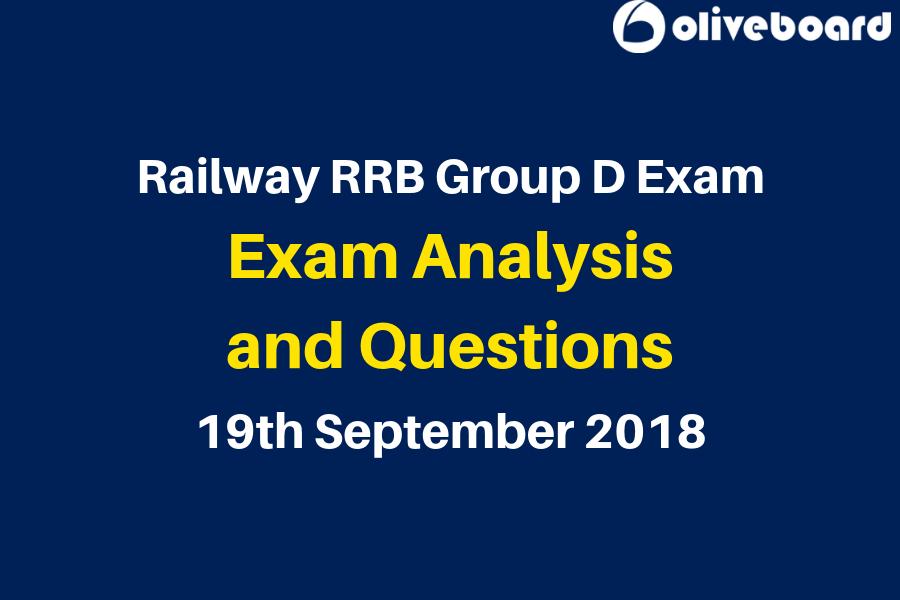 RRB Group D Exam Analysis 19 sep