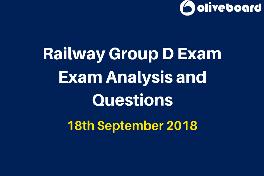 Railway Group D Exam Analysis 18 Sep