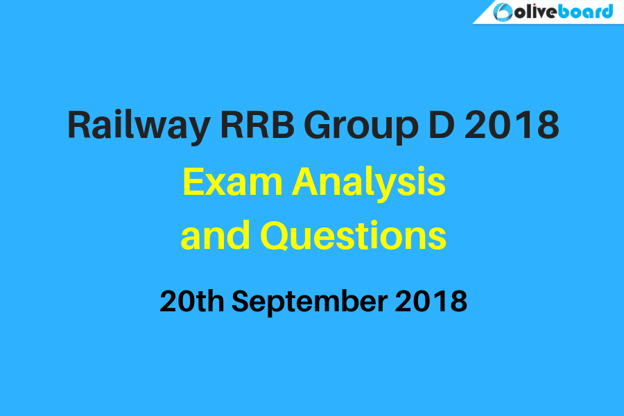 Railway RRB Group D Exam Analysis 20 s