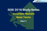 SEBI 2018 Study Notes part 1