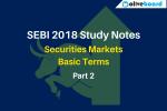 SEBI Exam Study Notes part 2