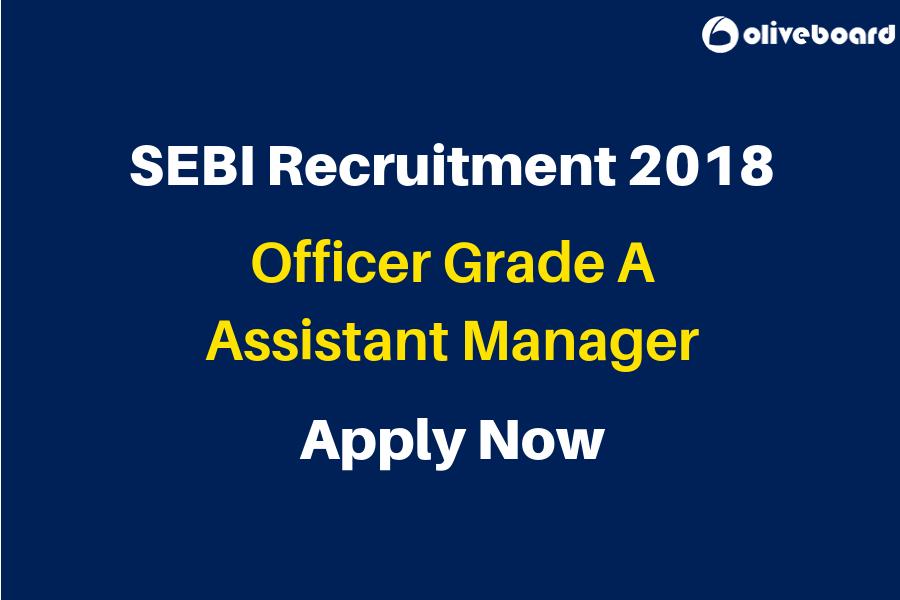 SEBI Recruitment 2018