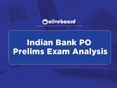 Indian Bank PO Prelims Exam Analysis
