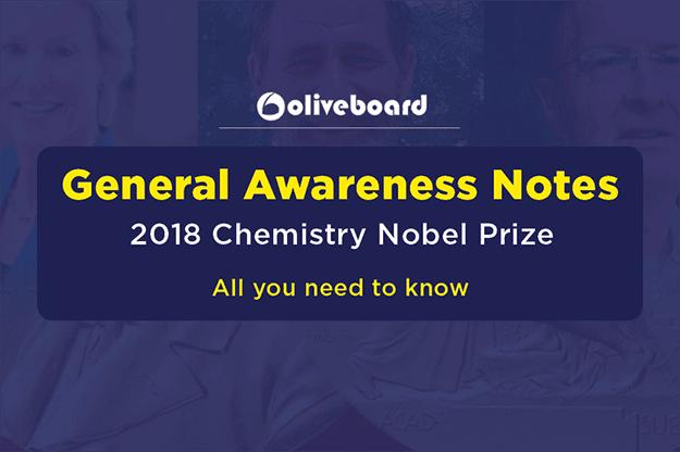 2018 Chemistry Nobel Prize