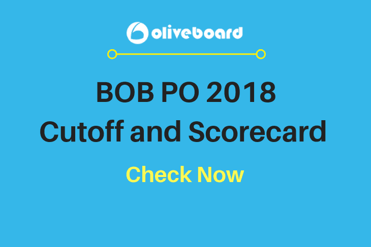 BOB PO 2018 Cutoff and scorecard