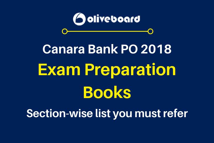 Canara Bank PO Exam Books 2018