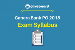 Canara Bank PO Syllabus 2018