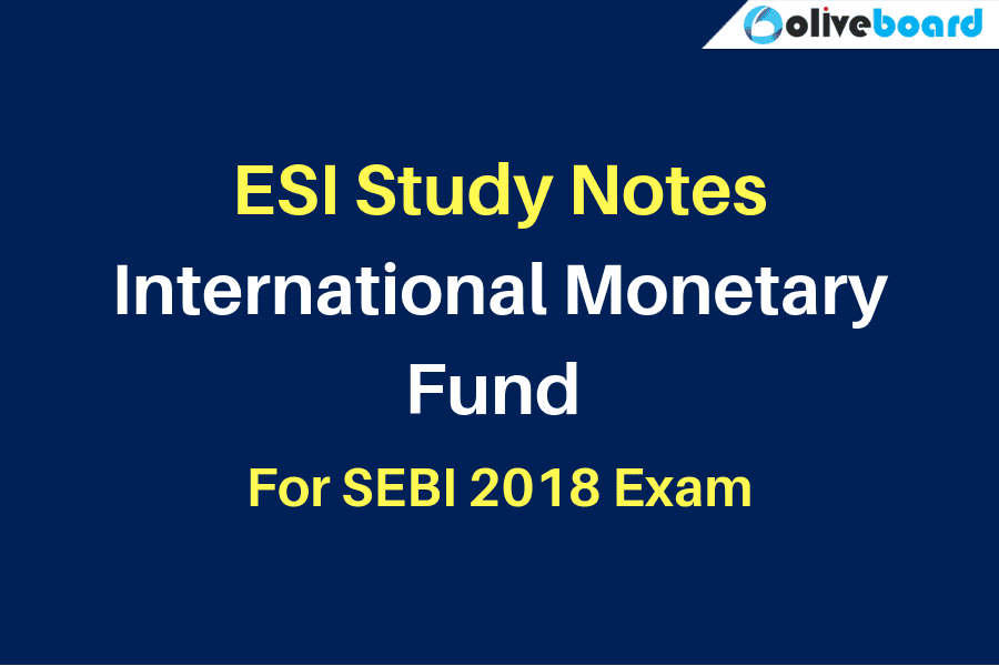 ESI Study notes IMF SEBI Exam