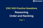 ESIC SSO Practice Questions 1