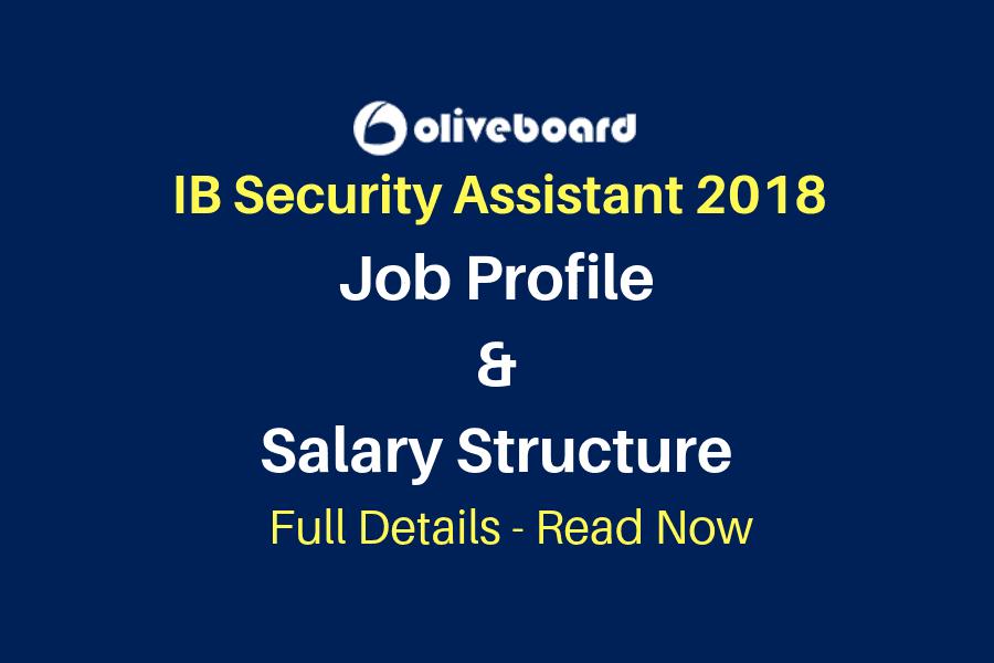 IB Security Assistant Job Profile & Salary