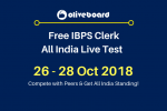 IBPS Clerk All India Live Test