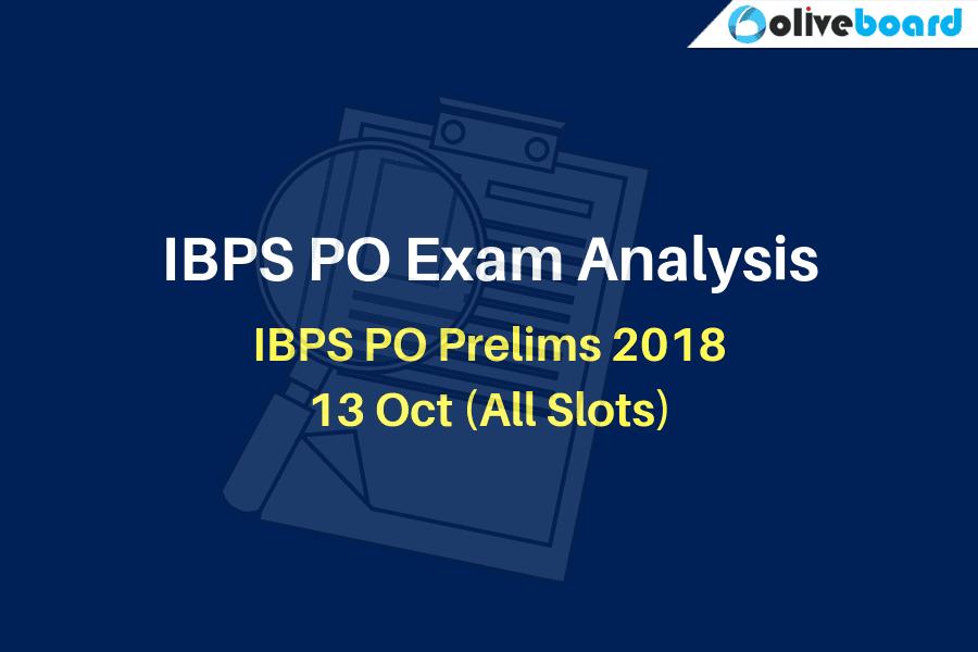 IBPS PO Exam Analysis