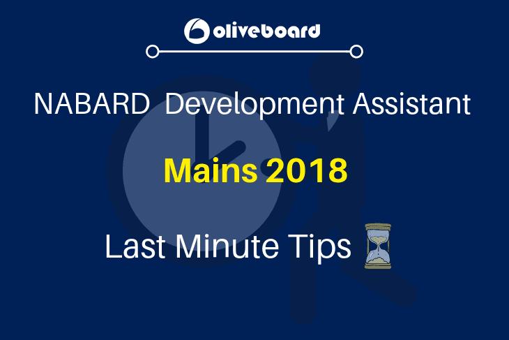 NABARD Development Assistant Mains