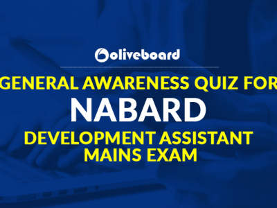 General Awareness Quiz for NABARD Development Assistant Mains