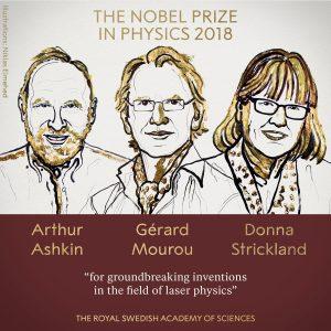 2018 Physics Nobel Prize