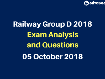 RRB Group D Exam Questions and Analysis 5 oct
