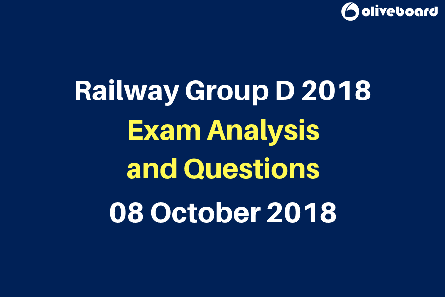 Railway RRB Group D Exam Questions and Analysis 8 oct