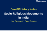 Socio-Religious Movements in India