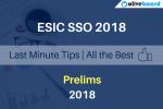 ESIC SSO 2018