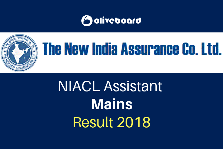 NIACL Assistant Mains Result