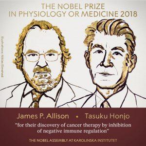 2018 medicine nobel Prize