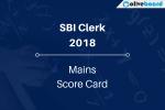 SBI Clerk Mains Score Card