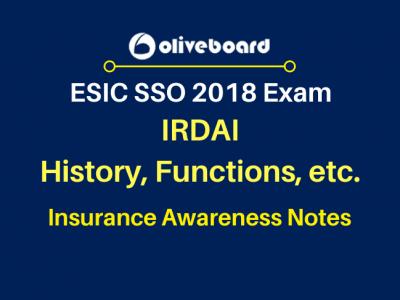 Insurance Awareness Notes IRDAI